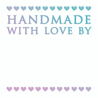 Couture Creations Le Petit Jardin - Handmade with Love Mini Stamp