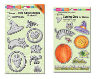 Stampendous Cling Stamps - Create Fall