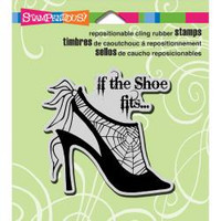 Stampendous Cling Stamp - Shoe Fits