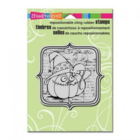 Stampendous Cling Rubber Stamp - Eek A Boo