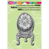 Stampendous Cling Rubber Stamp - Fabulous Egg