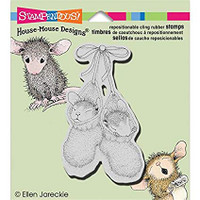 Stampendous Cling Rubber Stamp - Bootie Babies