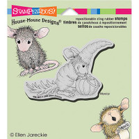 Stampendous Cling Rubber Stamp - Carrot Costume