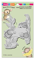 Stampendous Cling Rubber Stamp - Berry Sharing
