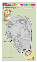 Stampendous Cling Rubber Stamp - Chamomile Nap