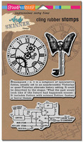 Stampendous Cling Rubber Stamp - Steampunk