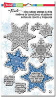 Stampendous Cling Rubber Stamp - Winter White