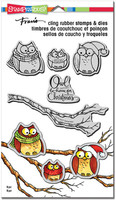 Stampendous Cling Rubber Stamp - Owl Be Home