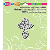 Stampendous Cling Rubber Stamp - Celtic Cross