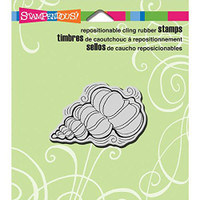 Stampendous Cling Rubber Stamp - Pen Pattern Shell