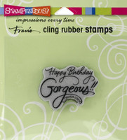 Stampendous Cling Rubber Stamp - Gorgeous
