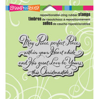 Stampendous Cling Rubber Stamp - Christmastide