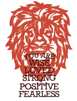 Simply Defined September 2018 Release Dies Set - Strength Is in Presence, Like A Lion