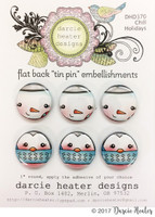 Darcie's Heart & Home Tin Pins - Chill Holidays