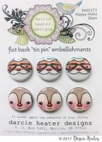Darcie's Heart & Home Tin Pins - Happy Holla Days