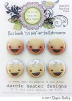Darcie's Heart & Home Tin Pins - Pop Fizz Clink