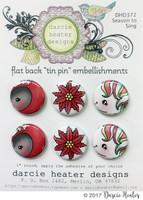 Darcie's Heart & Home Tin Pins - Season To Sing