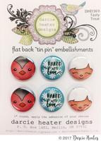 Darcie's Heart & Home Tin Pins - Tasty Treat