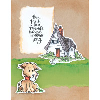 Stampendous Cling Stamps and Dies Bundle - Puppy Playmates