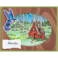 """Stampendous Cling Stamps and Dies 15/Pack """"I Want It All"""" Bundle"""