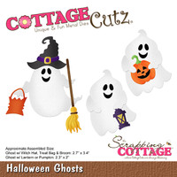 CottageCutz Die - Halloween Ghosts