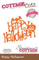 CottageCutz Elites Die - Happy Halloween
