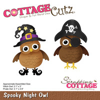 CottageCutz Die - Spooky Night Owl