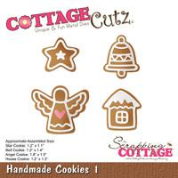 CottageCutz Die - Handmade Cookies 1