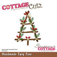 CottageCutz Die - Handmade Twig Tree