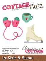 CottageCutz Die - Ice Skates & Mittens