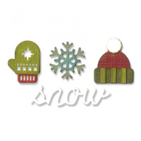 Sizzix Sidekick Side-Order Set By Tim Holtz - Winter