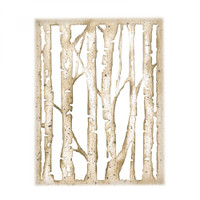 Sizzix Thinlits Die By Tim Holtz - Branched Birch