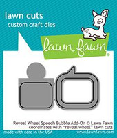 Lawn Fawn Dies - Reveal Wheel Speech Bubble Add-On
