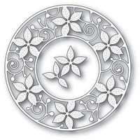 Memory Box Dies - Poinsettia Circle Frame