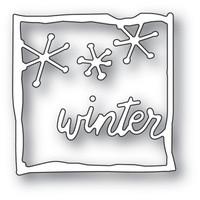 Memory Box Journal Frame Dies - Winter