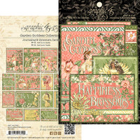 Graphic 45 Ephemera Cards - Garden Goddess