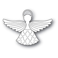 Memory Box Poppystamps Dies - Pinpoint Angel