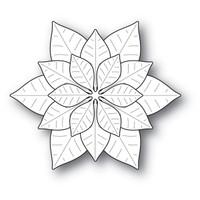 Memory Box Poppystamps Dies - Mod Poinsettias