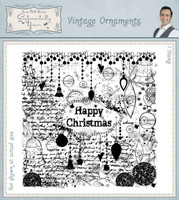 Creative Expressions, Sentimentally Yours Rubber Stamps By Phill Martin - Vintage Ornaments