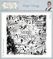 Creative Expressions, Sentimentally Yours Rubber Stamps By Phill Martin - Winter Foliage