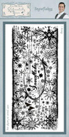 Creative Expressions, Sentimentally Yours Rubber Stamps By Phill Martin - Snowflake