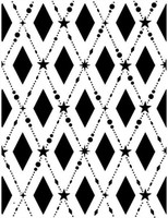 Creative Expressions Embossing Folder 5.75 x 7.5 inches - Tinsel Lattice