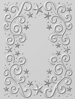 Creative Expressions Embossing Folder 3D 5.75 x 7.50 inches - Twinkle Swirls