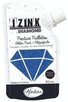 Aladine Izink Diamond Glitter Paint - Bleu Marine (Marine Blue)