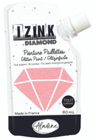 Aladine Izink Diamond Glitter Paint - Rose Poudre (Powder Pink)
