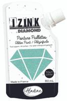 Aladine Izink Diamond Glitter Paint - Vert Pastel (Pastel Green)