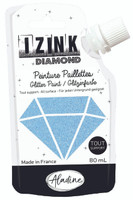 Aladine Izink Diamond Glitter Paint - Bleu Ciel (Sky Blue)