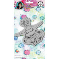 Studio Light Cling Stamps Chubby Chicks Art by Marlene - Yoga