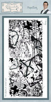 Creative Expressions Sentimentally Yours Rubber Stamps By Phill Martin - Papillon