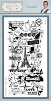Creative Expressions Sentimentally Yours Rubber Stamps By Phill Martin - Traveller